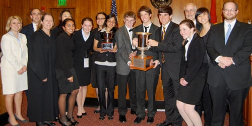Mock Trial Champs 2011